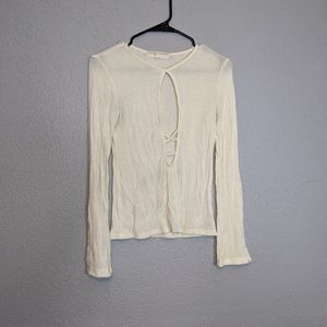 Urban Outfitters Deep V Neck Sweater